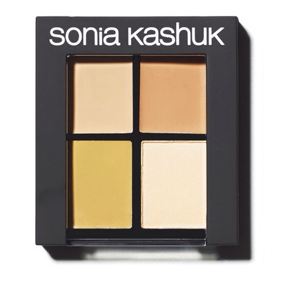 With four colors to blend or use separately, this is a great palette for on the go touch-ups. Sonia Kasuk Hidden Agenda Concealer Palette, $10.49, Target