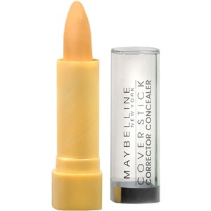 Yellow toned concealer to even out skin tone