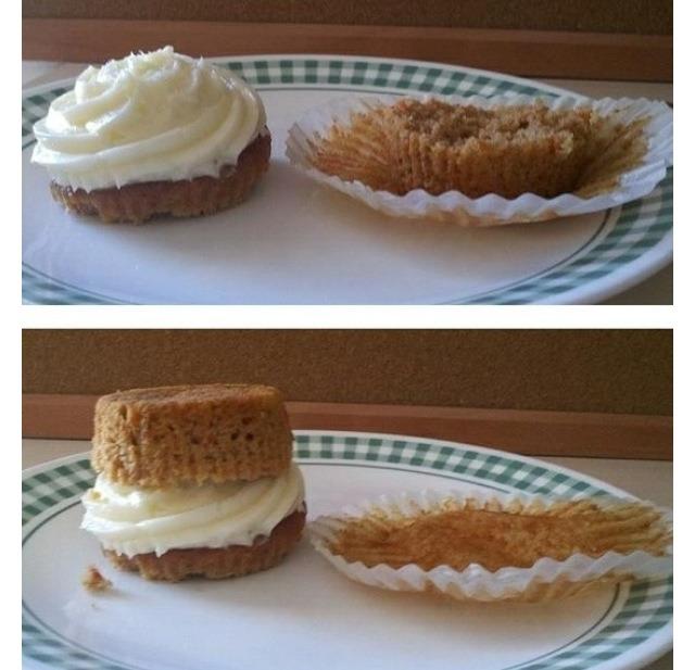 The perfect cupcake.