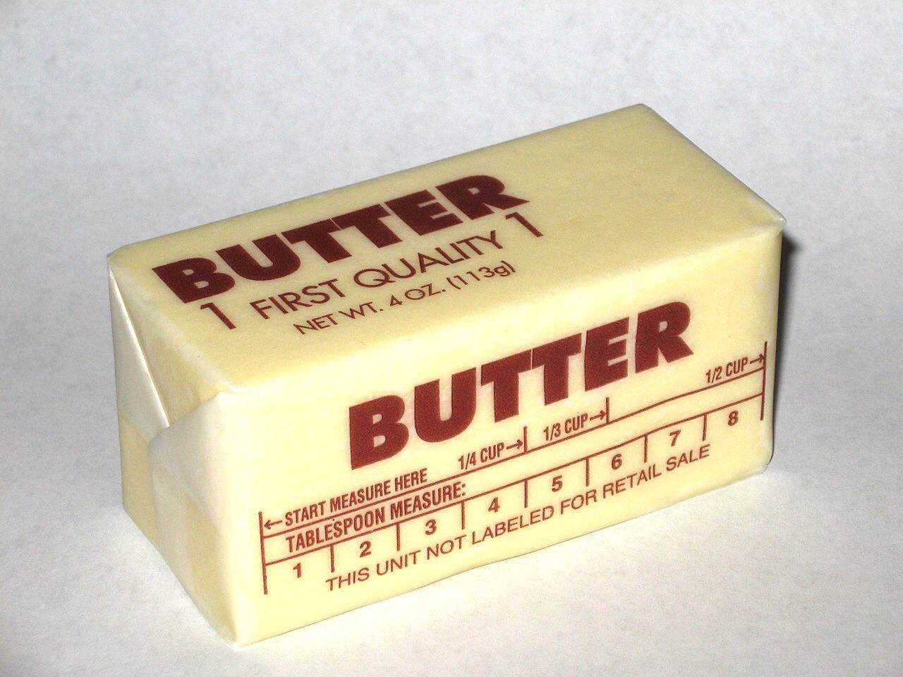 Your gonna need a couple heaping spoonfuls of butter. And you're gonna want to melt the butter in the pan.