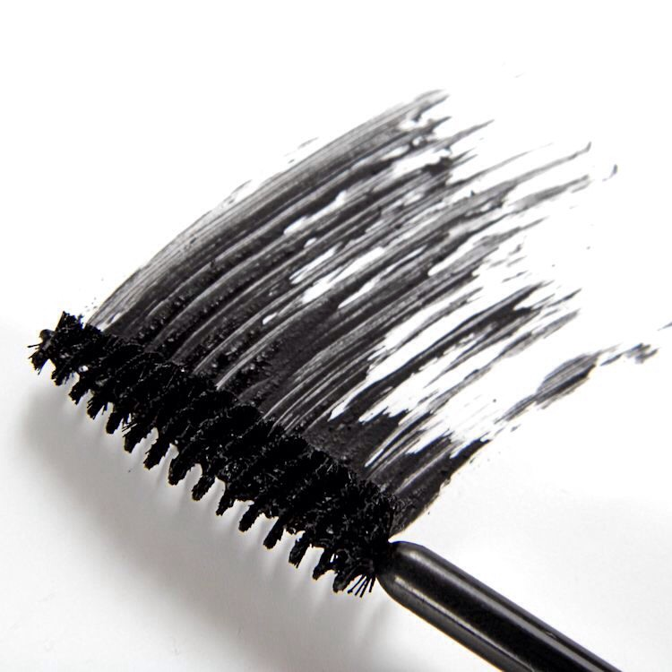 Be sure to check for smudges after each application. It's tricky to not get mascara on your skin during application. If you end up with a smudge, wait until the mascara dries, and then gently swipe it away with a cotton swab. If necessary, carefully touch up the makeup you might have dinged.