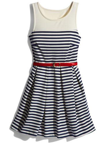 Nautical Dress This preppy summer dress makes looking cute so easy!  Others Follow dress