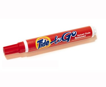 Tide To Go Pen- If you're super clumsy like me.
