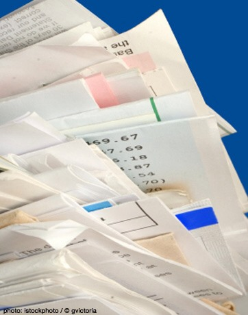 Credit card and bank statements  Go paperless and request statements be emailed to you. Enjoy having less paper to sort, shred or file.
