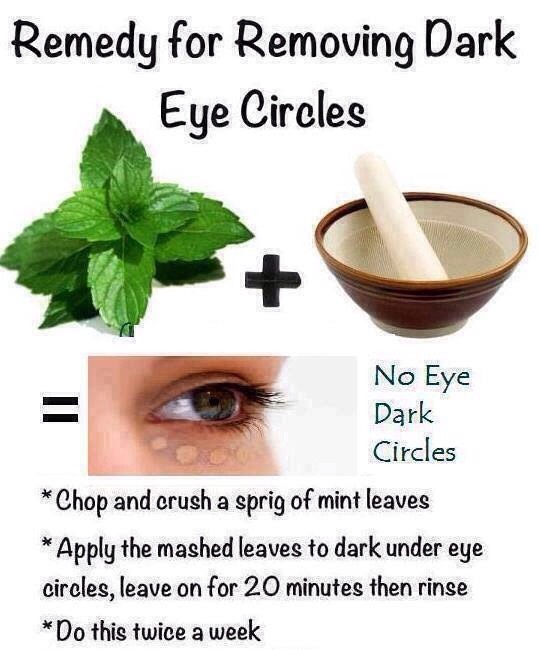 Natural Ways To Remove Dark Circles Under Your Eyes