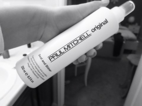 If you have dry frizzy hair, I highly recommend the SEAL AND SHINE. You spray it evenly all around your CLEAN, WET HAIR.