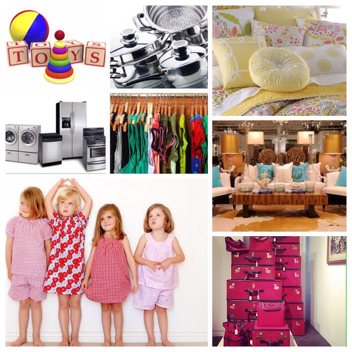 January this is the time to buy appliances, clothing, household linens, furniture, toys, luggage, and sleepwear.