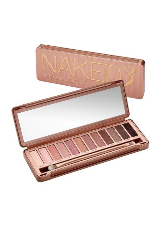 16. Urban Decay NAKED3 Eyeshadow Palette This palette is the ultimate. With a huge array of neutral tones that can be dressed up or down, it's the last shadow collection you'll ever need.
