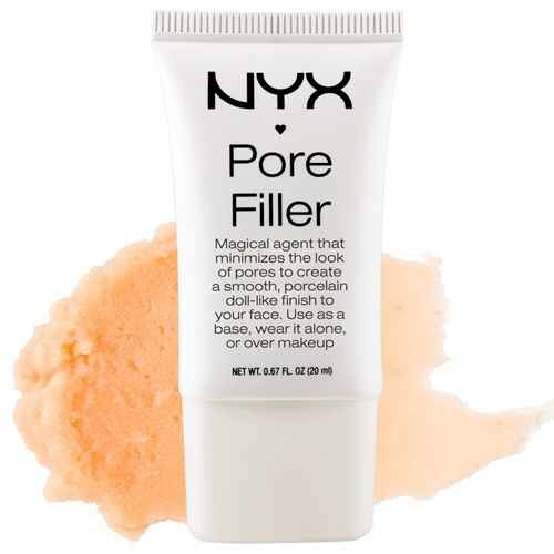 8. NYX PORE FILLER $14   If you've never used a product like this, you will be very entertained by the results, as it is basically magic.  Compare to: Benefit POREfessional. Not QUITE as great, but half the price  Try: Strictly under foundation and sparingly. This product is heavy but amazing.
