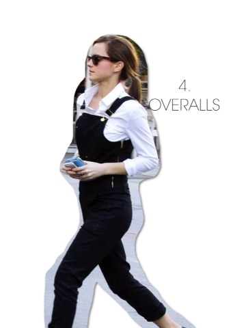 Honestly though, I think it's such a cute trend and I'm glad it's back! Emma always looks really sleek and pairs her colors really nicely. A classic black and white ensemble can never go wrong.