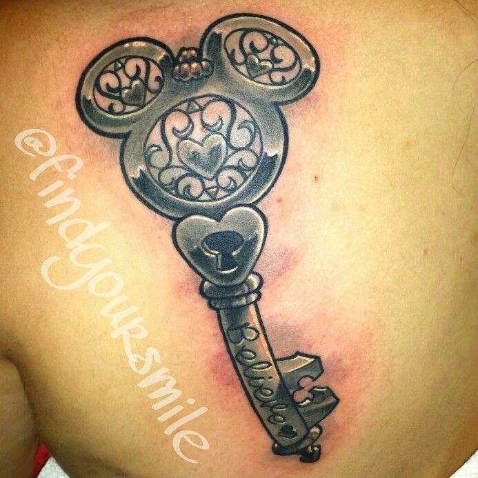 The key to my heart Disney style