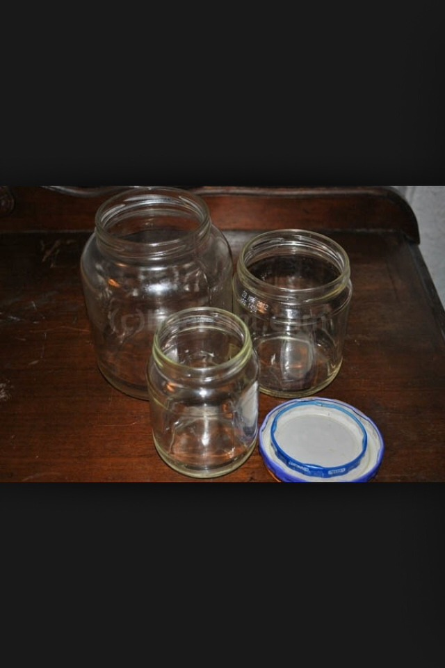 A mason jar ( has to have lid!!)