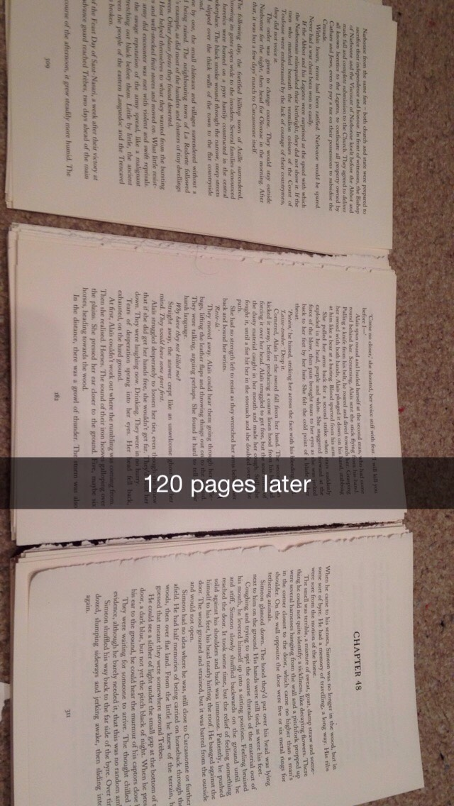 Step 1 after separating all 120 pages from your book prepare to fold into cones