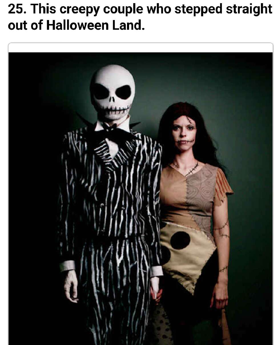 Chilling Halloween Makeup Looks: Chilling Tim Burton Halloween Costumes You Should Try!! By