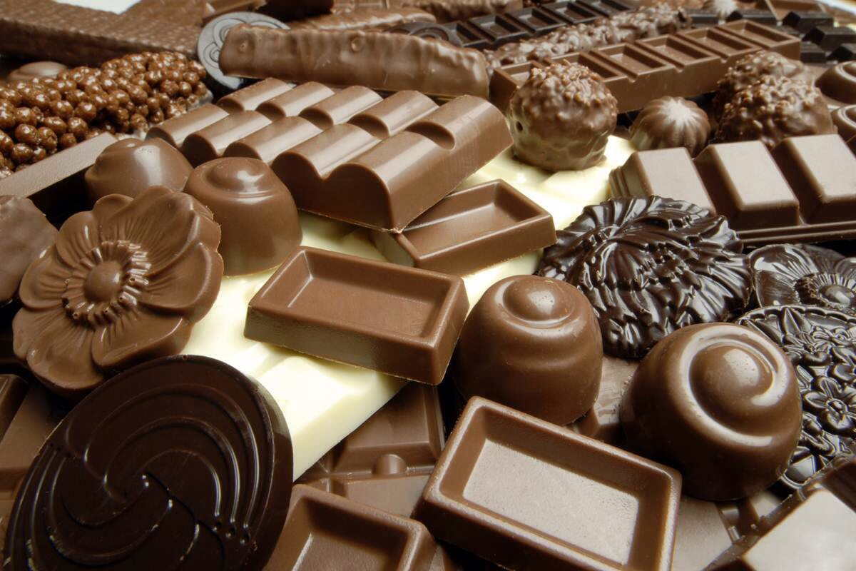 Chocolate, you need chocolate to help calm the stress