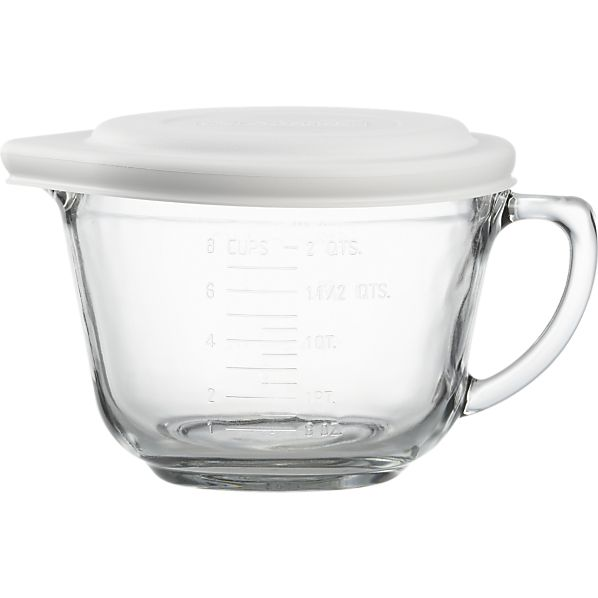 Now your going to put all these in a measuring cup, and depending how much hair you have depends on how much you need.