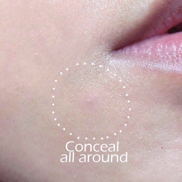 17 | Apply concealer around a zit as well as on top of it.This will make it easier to blend it in with the rest of your makeup