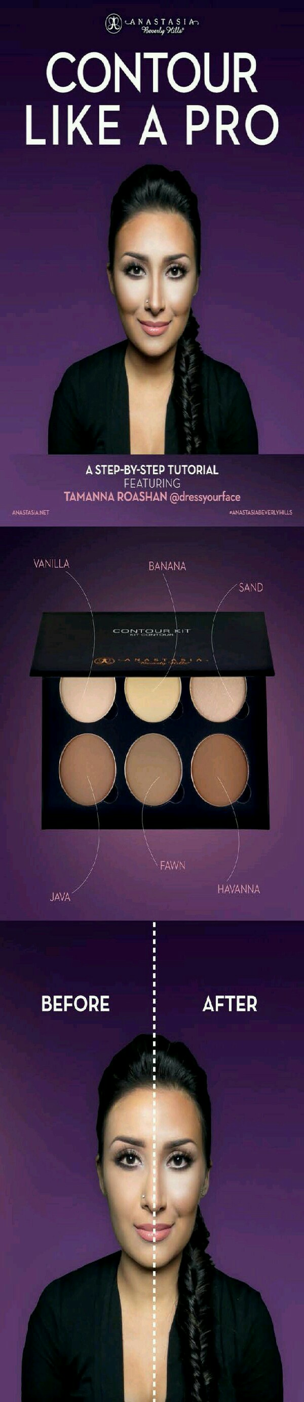 Get this contour pallete at Sephora $40
