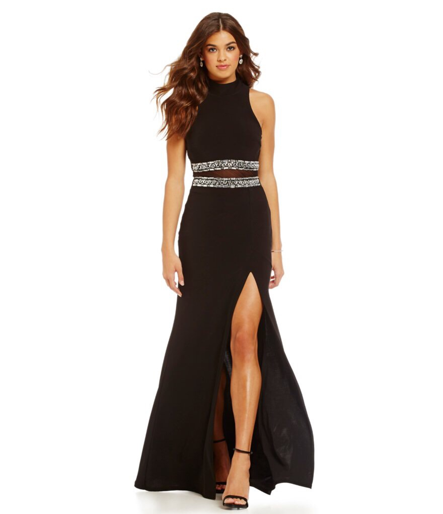 http://www.dillards.com/p/b-darlin-high-mock-neckline-cut-out-illusion-waist-gown/505874892?di=04618464_zi_black_crystal&categoryId=667452&facetCache=pageSize%3D26%26beginIndex%3D0%26orderBy%3D1