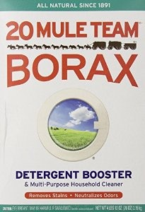 Add about 1 1/2 ( one and one half) cup(s) of borax.