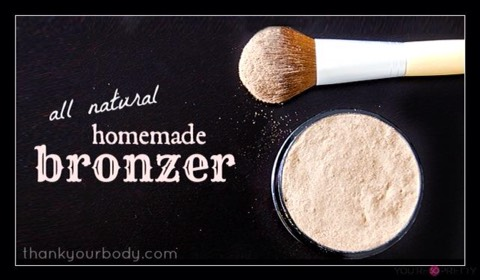 Homemade Bronzer   http://www.thankyourbody.com/homemade-bronzer-all-natural-and-so-easy/