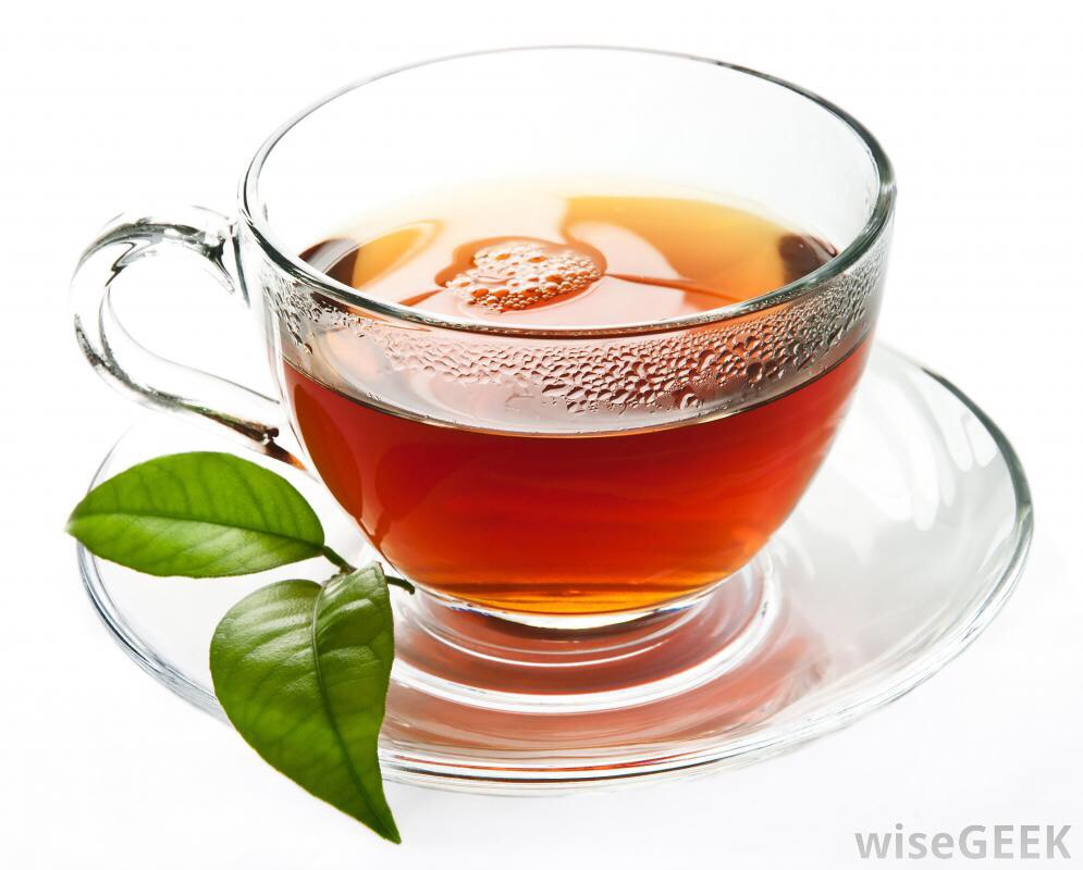 Monday-Friday: drink green tea, natural slimming tea, or peppermint tea with your breakfast.