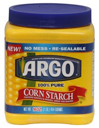 You will need cornstarch