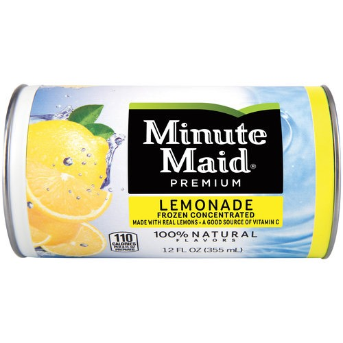 1-12 oz frozen lemonade concentrate