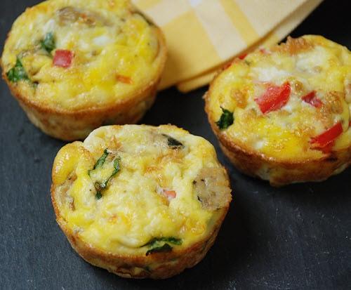 Scrambled egg muffin (160)