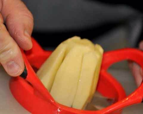 10. Use an Apple Slicer to Quickly Cut Potatoes
