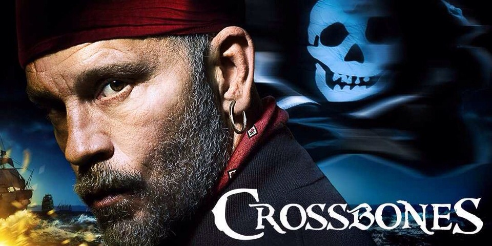 """5. """"Crossbones"""" (NBC)hat it's about: The most notorious pirate in history, Blackbeard (John Malkovich), rules over a rogue nation of thieves, outlaws, and miscreant sailors, until an undercover assassin arrives to take him out."""