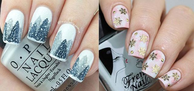 25+ Winter Nail Art Designs, Ideas)))) - Musely