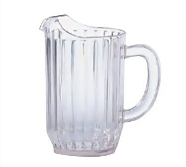 get a pitcher 2/3 filled with water