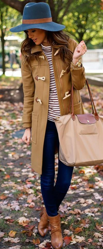 14. Chic Winter Outfit With Camel Coat
