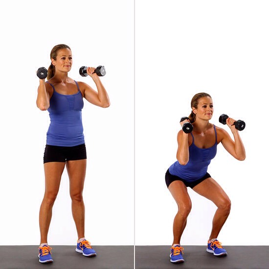 30 squats
