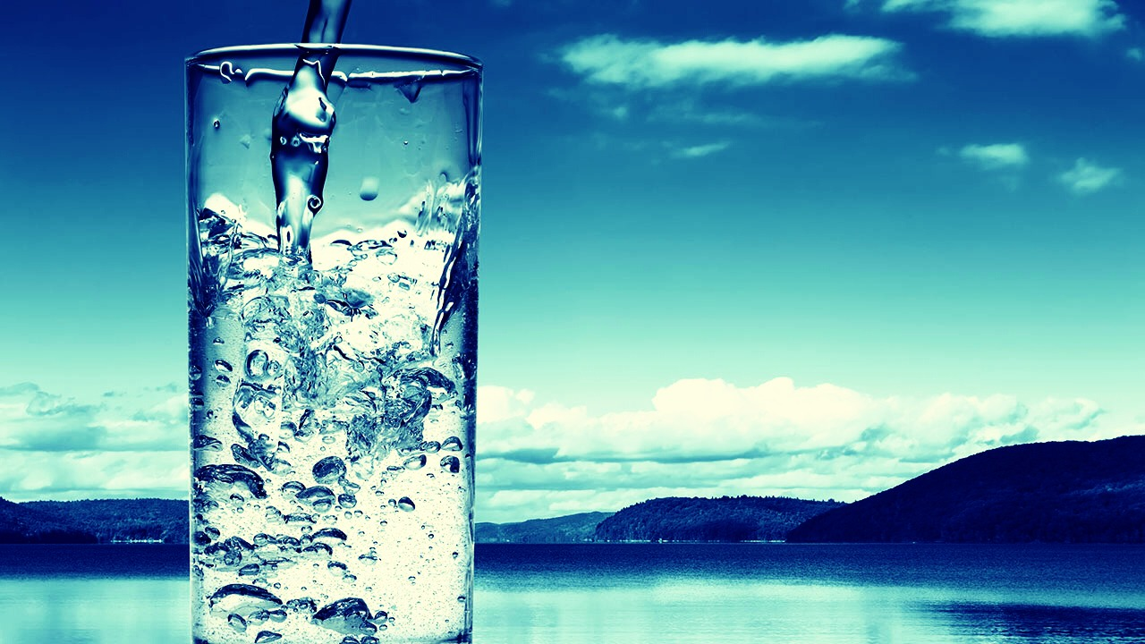 Drink plenty of water every day! Water keeps you're skin healthy, and it keeps you healthy in a lot of other ways.