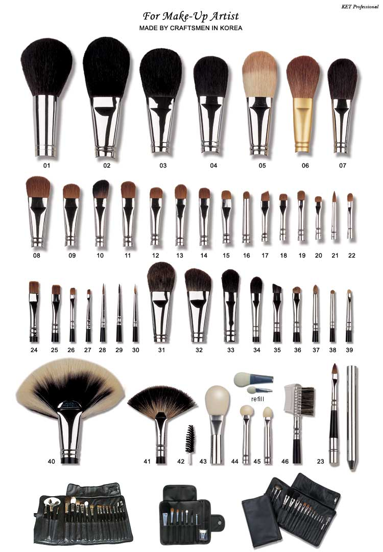 DOuse professional makeup brushes. You'll be surprised at how beautiful your makeup looks when you apply it with full-size, high-quality brushes rather than with the tiny, cheap applicators that often come packaged with makeup. Investing in a set ofgood brushesis one of the wisest beauty moves you can make!