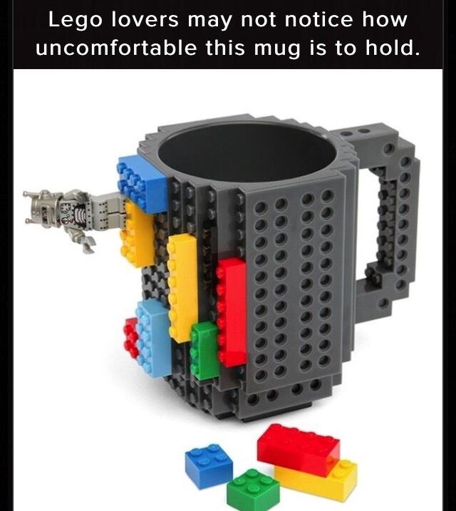 http://www.awesomeinventions.com/shop/lego-mug/