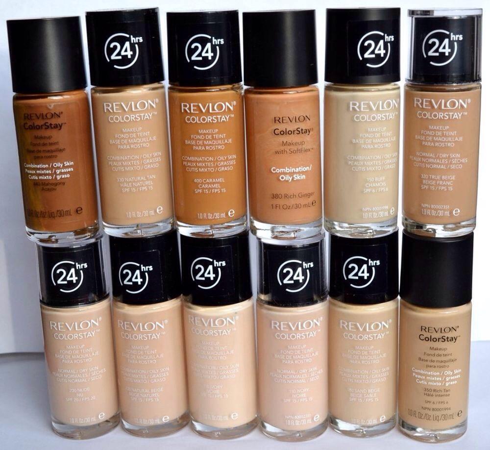 Revlon Colorstay makeup is very worth it.