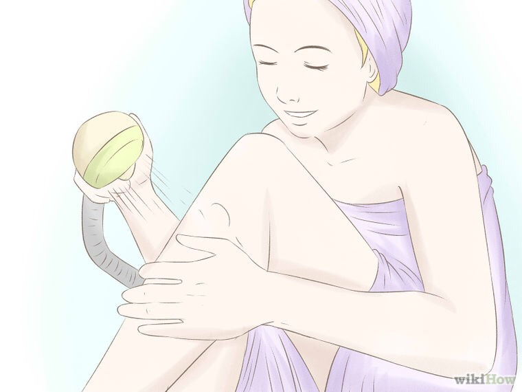 when you are done, rinse your legs or whatever else you are shaving (if you don't like the oily feeling after shaving, you can just clean your legs with baby soap to get the oily feel out and put on some lotion after. if you don't, that's great too)