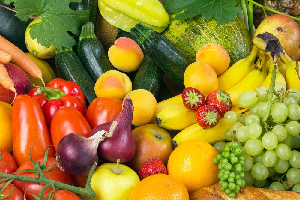 You have to eat fruits and vegetables to start losing weight or being healthy in general. Stay away from pop, processed food, fast food, junk food, and sugars. Drink plenty of water too!