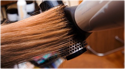 Tip #8 for smooth results, brush as you blow dry in the same direction. It will prevent your cuticle from roughing up.