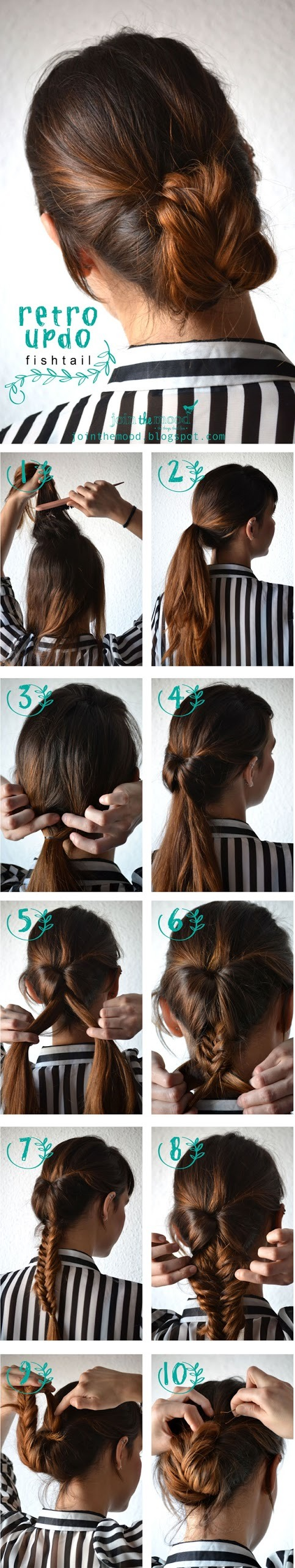 """Pin the teased section of hair with a few bobby pins(or more). You can also give the bump a """"boost"""" to add extra volume."""