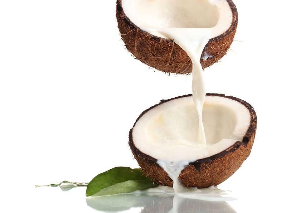 7.         You can also apply coconut milk which contain various minerals. The coconut oil keeps your skin moisturized and will not make your skin oily.