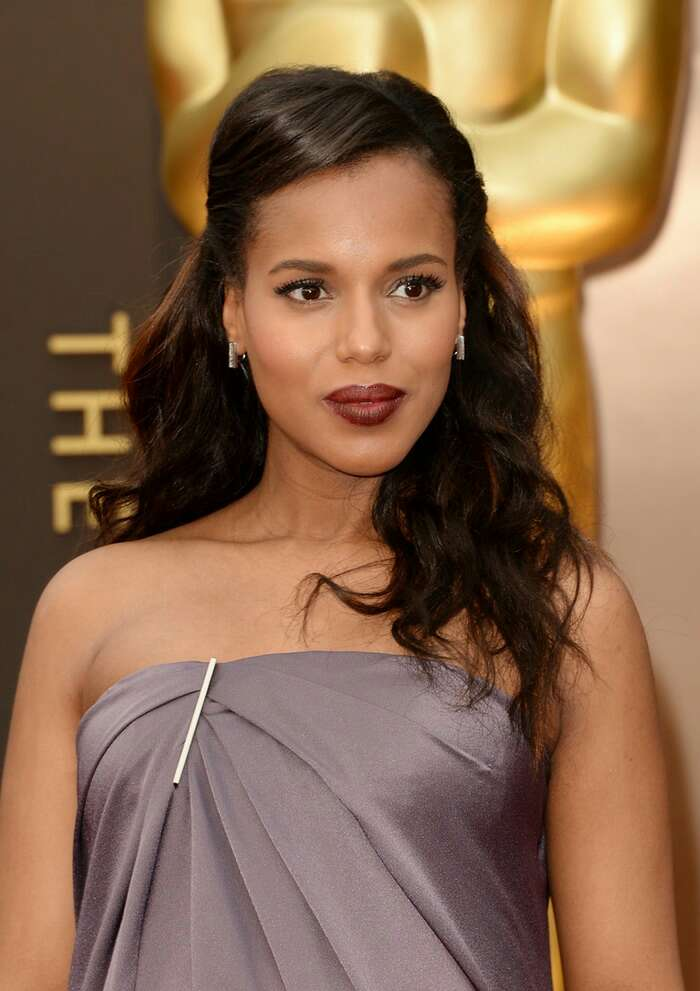 Darker skin tone: Deep plums, berries, and reds. Avoid too light or pale colors.