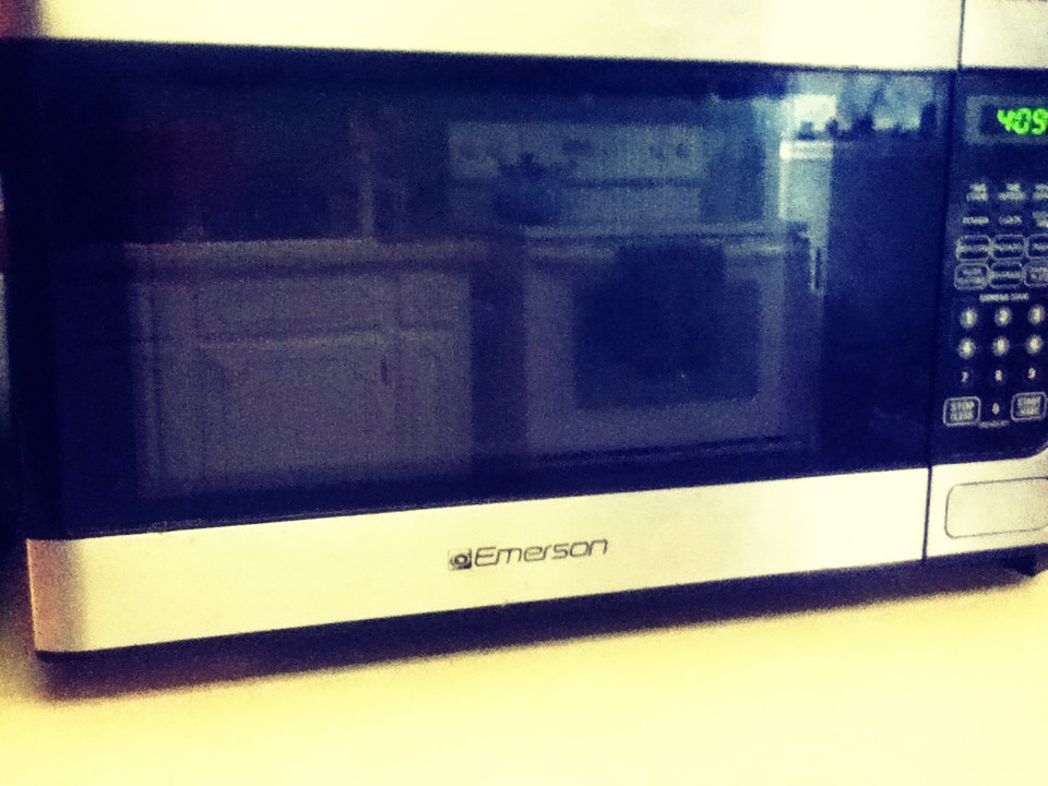 Put the case in the microwave for about 10 seconds.