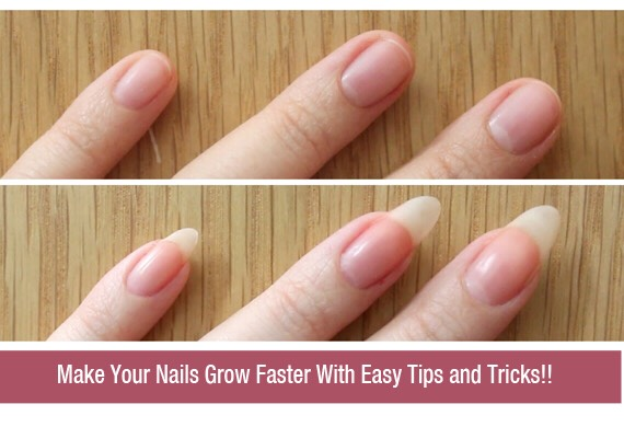 This tip helps you grow your nails faster. Using this tip can help you if you chew your nails and don't like the look of it of recently broke a nail.