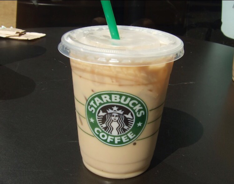 Iced Coffee (with classic syrup)  60 calories 0 fat