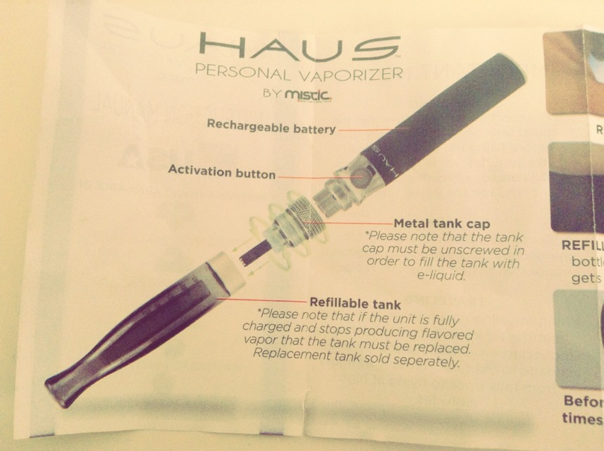 These are all the parts. With HAUS (personal vaporizer/ vape pens) the starter kit comes with a USB to charger the batter and two of the parts to make the vape pen
