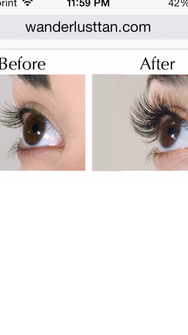 Grow your lashes and eyebrows naturally